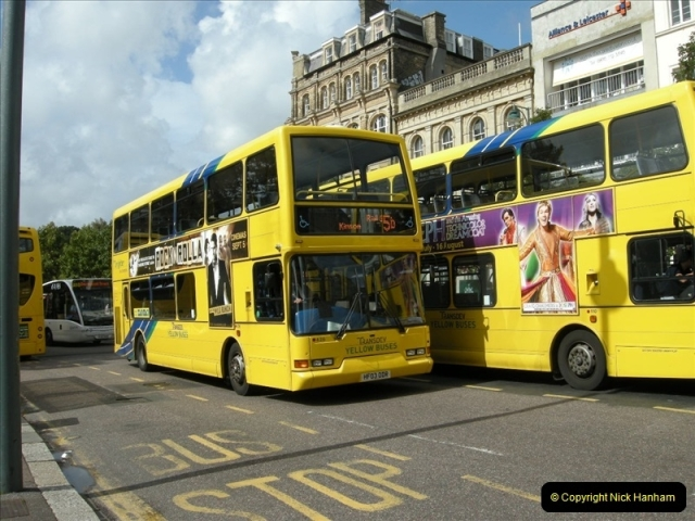 Yellow Buses Bournemouth, Dorset. 1963 to  2011. Picture 145336