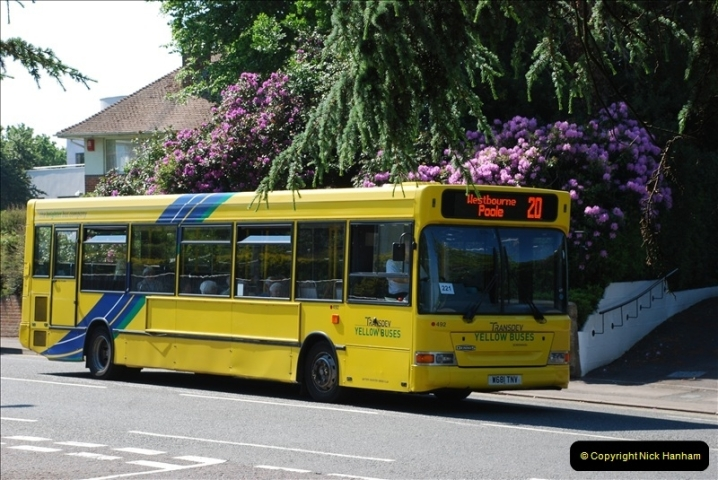 Yellow Buses Bournemouth, Dorset. 1963 to  2011. Picture 149340