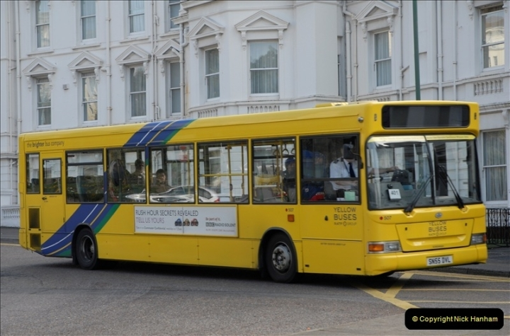 Yellow Buses Bournemouth, Dorset. 1963 to  2011. Picture 163354