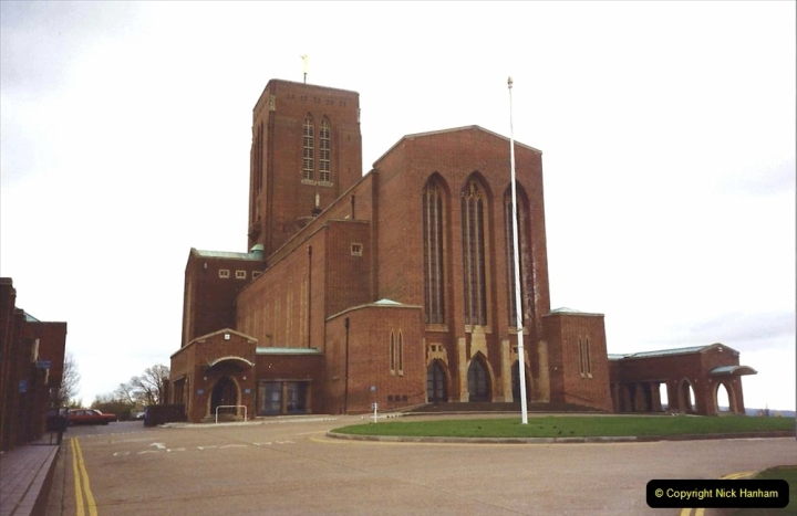 1990 Miscellaneous. (10) Guildford Cathedral.0010