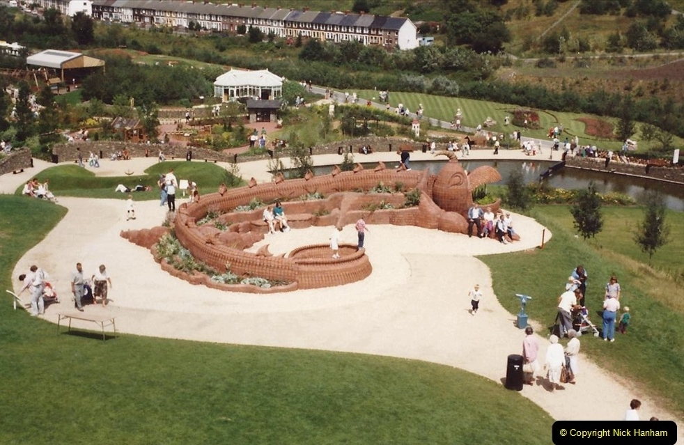 1992 Miscellaneous. (193) Garden Festival of Wales 1992. Ebbw Vale, South Wales.0195