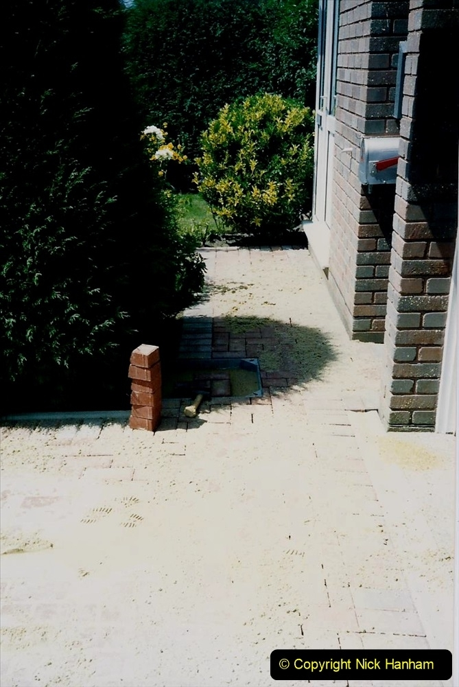1993 Miscellaneous. (389) New driveway for your Host & Wife. 0393