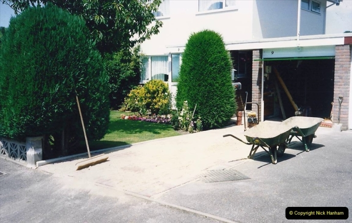 1993 Miscellaneous. (390) New driveway for your Host & Wife. 0394