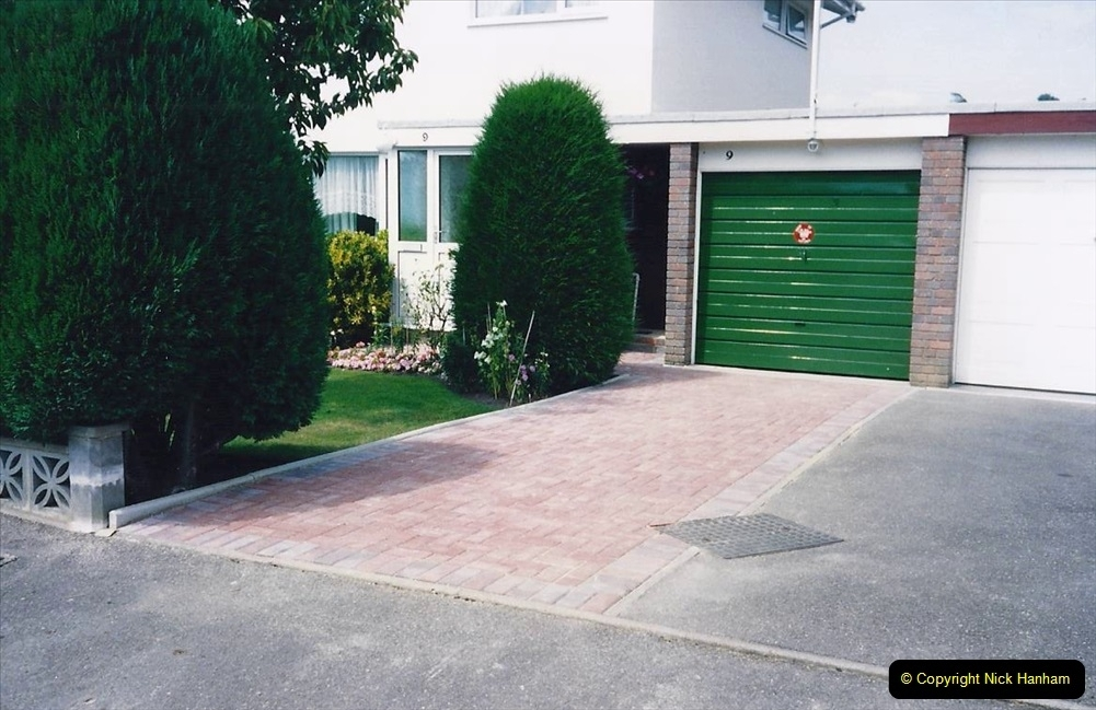 1993 Miscellaneous. (393) New driveway for your Host & Wife. 0397