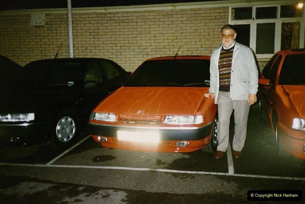 1993 Miscellaneous. (402) Collecting our new cars at 0001 on 01 August. Your Host.0406