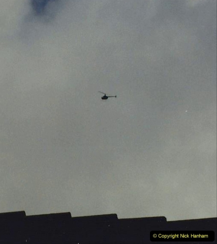 1993 Miscellaneous. (414) The helicopter taking our house pictures.0418