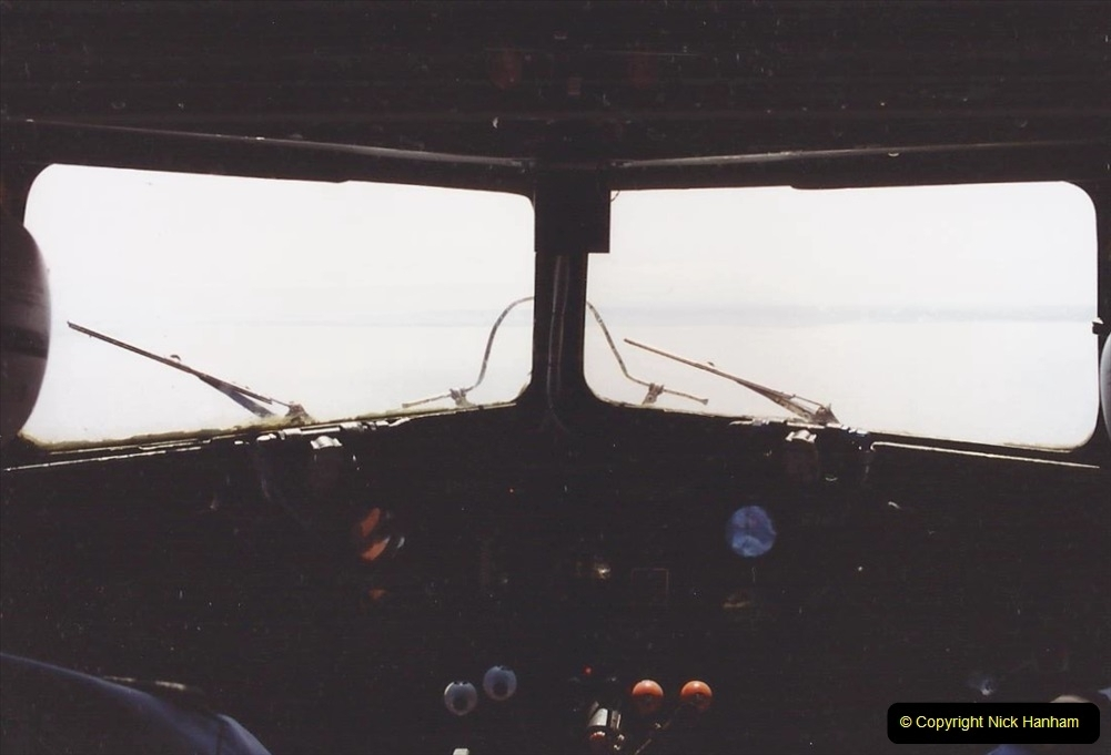 1994 Miscellaneous. (548) D Day Landings flight from Bournemouth Hurn Airport to the French Coast. 0452