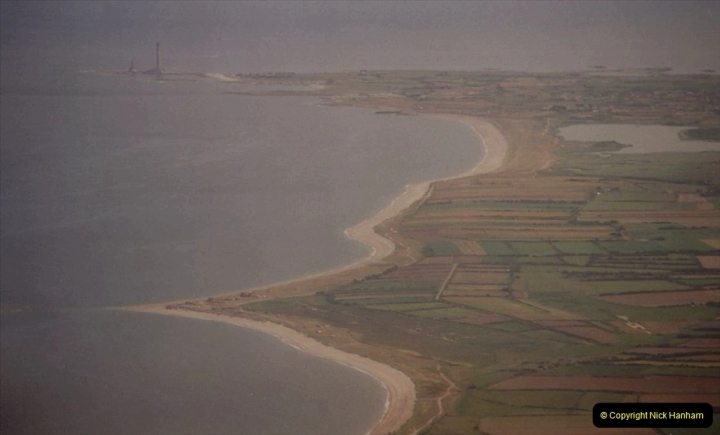 1994 Miscellaneous. (553) D Day Landings flight from Bournemouth Hurn Airport to the French Coast. Cherbourg. 0457