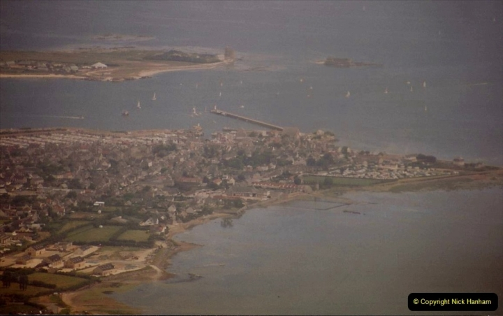 1994 Miscellaneous. (554) D Day Landings flight from Bournemouth Hurn Airport to the French Coast. Cherbourg. 0458