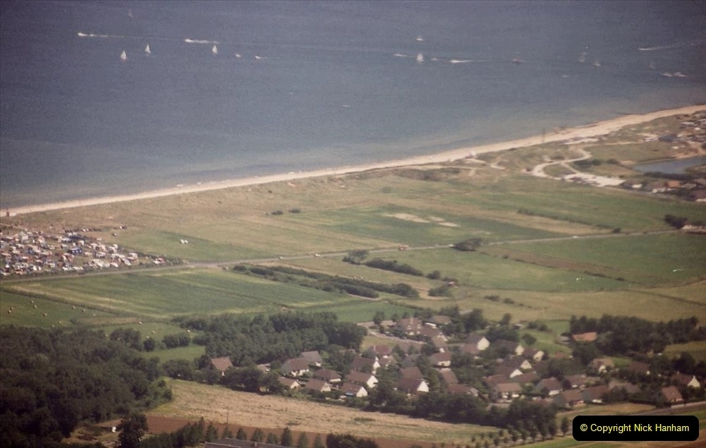 1994 Miscellaneous. (570) D Day Landings flight from Bournemouth Hurn Airport to the French Coast. 0474