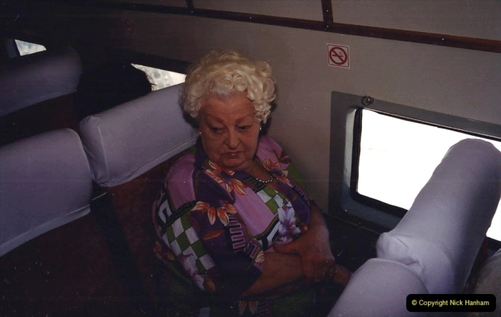 1994 Miscellaneous. (571) D Day Landings flight from Bournemouth Hurn Airport to the French Coast. Your Host's Late Mother.0475
