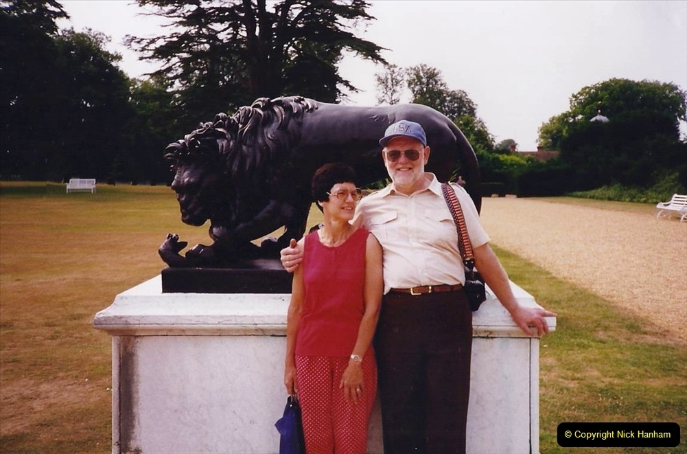 1994 Miscellaneous. (582) Your Host and Wife at Kingston Lacy.0486