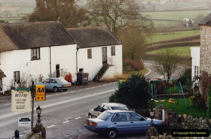 1995 Miscellaneous. (11) Yarcombe, Somerset for B&B. 0510