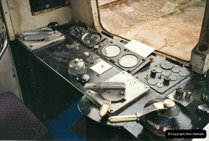 2002-07-12 Driving the late turn DMU.  (5)070
