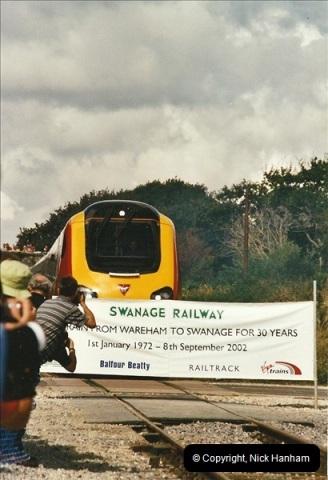 2002-09-08 Virgin Voyager named @ Swanage.  (6)093