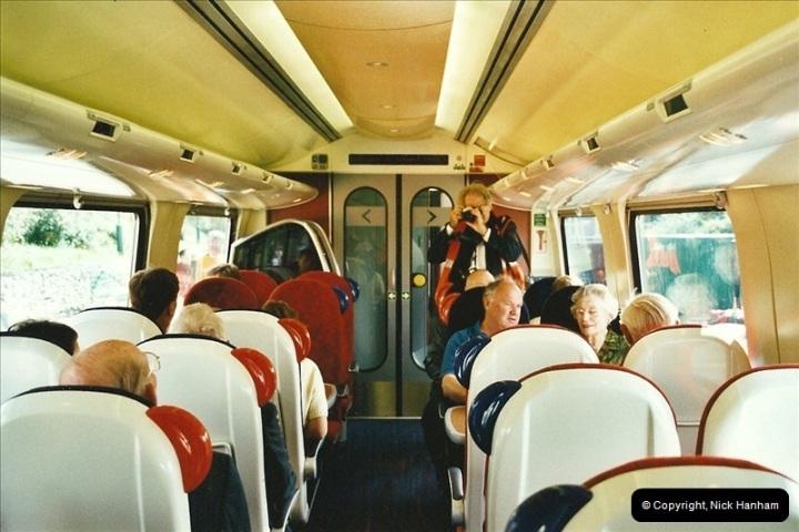 2002-09-08 Virgin Voyager named @ Swanage.  (15)102