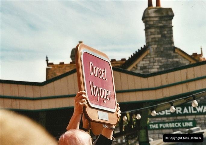 2002-09-08 Virgin Voyager named @ Swanage.  (25)112