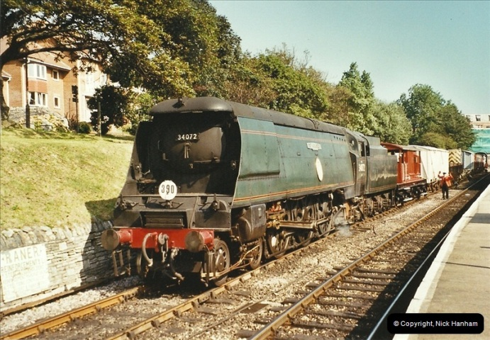 2002-09-14 SR Steam Gala. Your Host driving 80104. (9)158