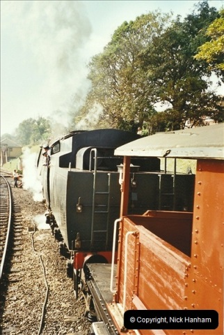 2002-09-14 SR Steam Gala. Your Host driving 80104. (10)159