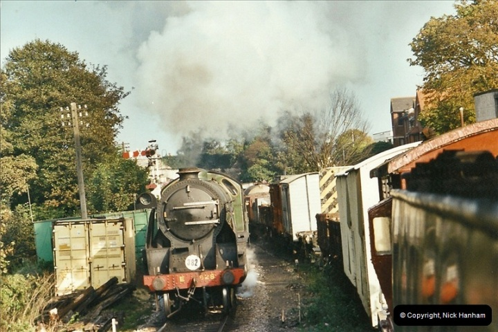 2002-09-14 SR Steam Gala. Your Host driving 80104. (15)164
