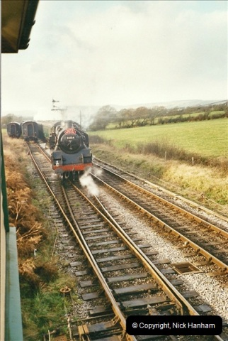 2002-12-01 Driving the DMU on Santa Specials.  (12)206