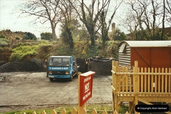 2003-04-15 Corfe Castle coal yard.  (1)326