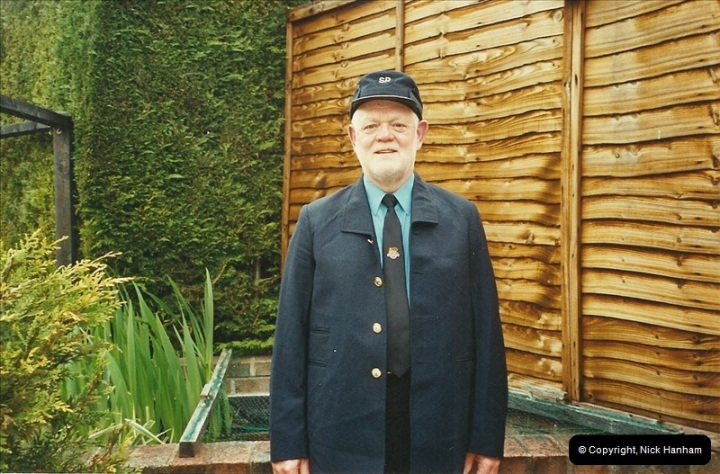 2003-05-07 Your Host in his new motorman uniform.  (1)344