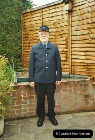 2003-05-07 Your Host in his new motorman uniform.  (3)346