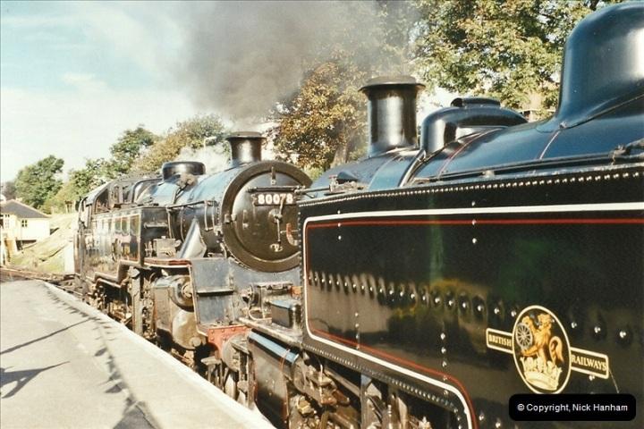 2003-09-14 SR Steam Gala driving 35027.  (2)398