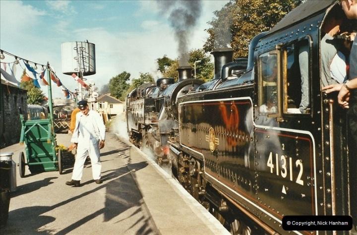 2003-09-14 SR Steam Gala driving 35027.  (5)401