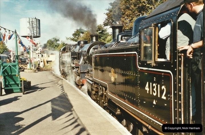 2003-09-14 SR Steam Gala driving 35027.  (6)402