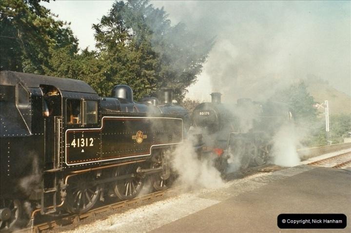 2003-09-14 SR Steam Gala driving 35027.  (8)404