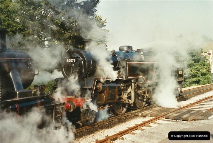 2003-09-14 SR Steam Gala driving 35027.  (9)405
