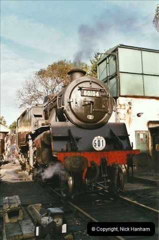 2004-09-11 SR Steam Gala with your Host driving 80104.  (4)585