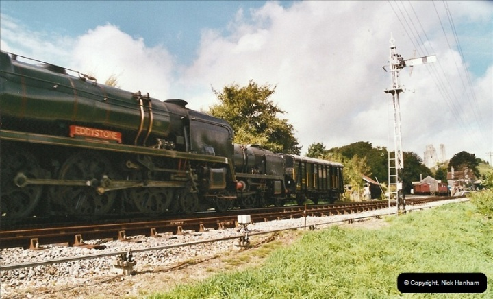 2004-09-11 SR Steam Gala with your Host driving 80104.  (29)610