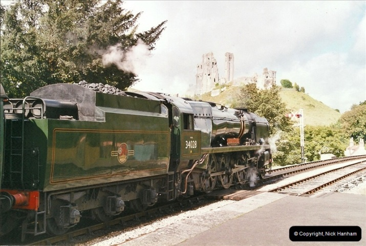 2004-09-11 SR Steam Gala with your Host driving 80104.  (31)612
