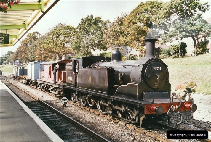 2004-09-11 SR Steam Gala with your Host driving 80104.  (33)614