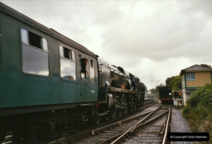 2004-09-11 SR Steam Gala with your Host driving 80104.  (41)622