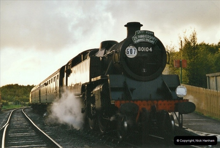 2004-09-11 SR Steam Gala with your Host driving 80104.  (43)624