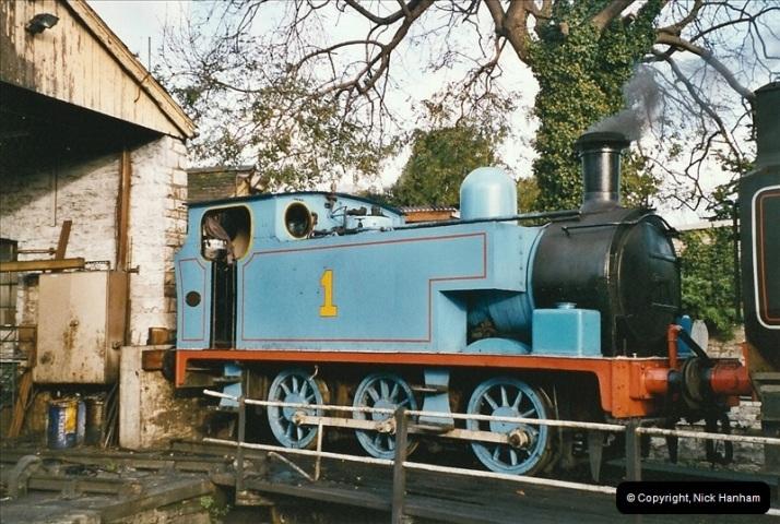 2004-10-25 Driving Thomas on Thomas week.  (1)645