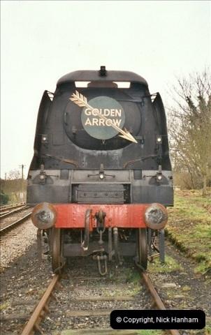 2004-11-30 Corfe Castle station.  (5)664