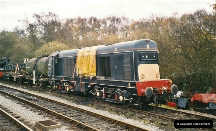 2004-12- 01 to 24 On and about the Swanage Railway.  (14)722