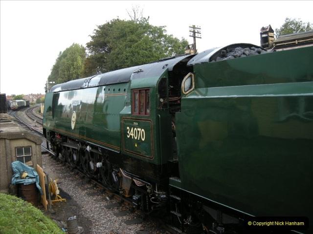 2008-08-09 34070 Manston arrives.  (10)0174