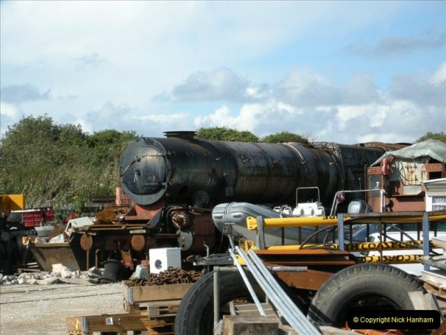 2008-08-14 SR locos @ Portland, Dorset.  (2)0189