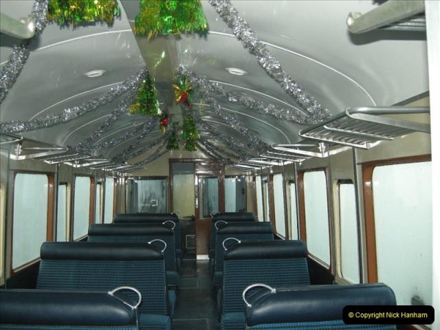 2008-12-07 Santa Specials, Driving the DMU.  (2)0591