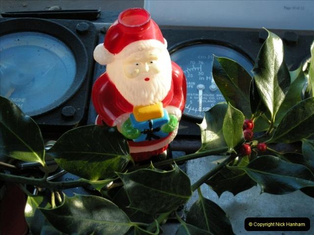 2008-12-07 Santa Specials, Driving the DMU.  (38)0627