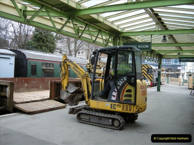 2009-01-07 SR Engineering work driving 08.  (10)0658