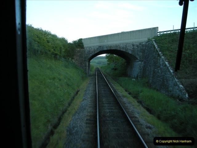 2009-05-15 Driving the late turn DMU.  (11)0242