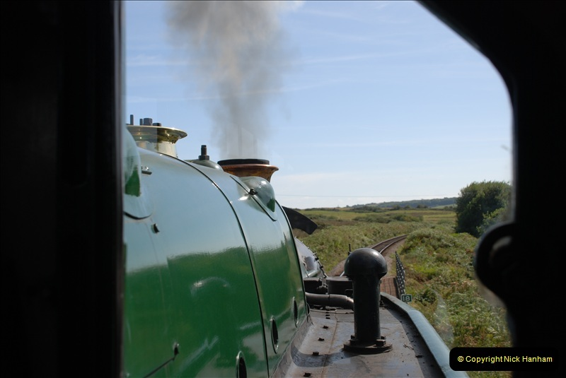 2009-09-11 SR Steam Gala. Your Host driving 6695.  (46)46