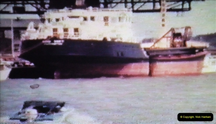 1965 Poole. Very poor quality images taken from 8mm movie film. For historic value.  (2)02
